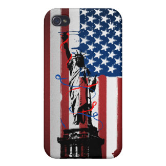 Urban Statue of Liberty Covers For iPhone 4