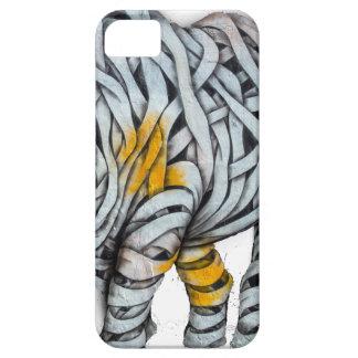 Urban Street Art: Ribbon Rhinoceros iPhone 5 Cover