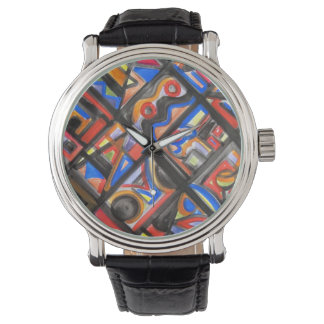 Urban Street One-Abstract Art Geometric Watch