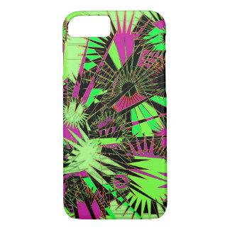 Urban Supernova lime green and pink phone case