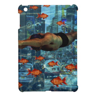 Urban swimmers iPad mini cover