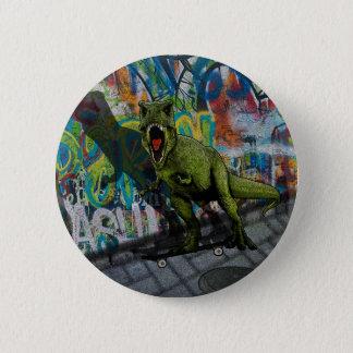Urban T-Rex 2 Inch Round Button