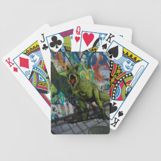Urban T-Rex Bicycle Playing Cards