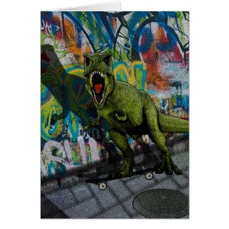 Urban T-Rex Card