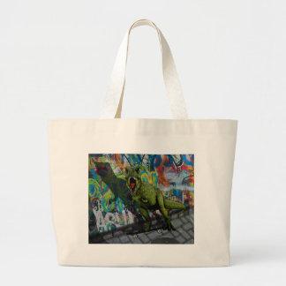 Urban T-Rex Large Tote Bag