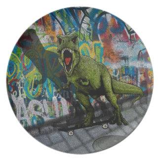 Urban T-Rex Plate