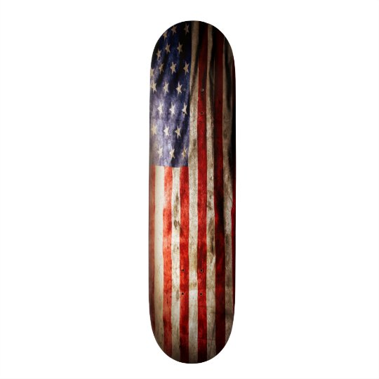 Urban USA Grunge Flag Element Custom Pro Board Skateboard Deck