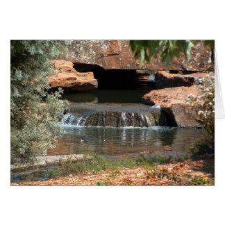 Urban Waterfall Card