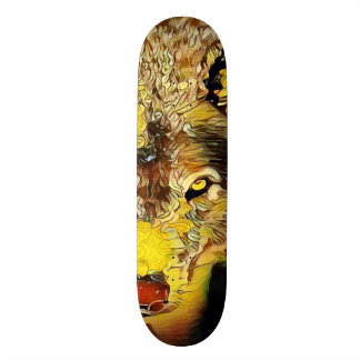 Urban Wolf Way Custom Artisan Pro Park Board Custom Skateboard