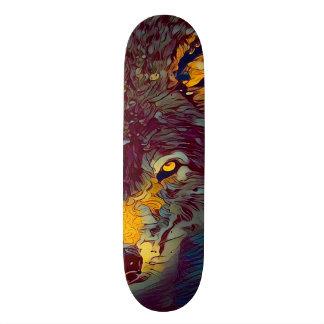 Urban Wolf Way Custom Artisan Pro Park Board Skate Deck