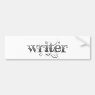 Urban Writer Bumper Sticker
