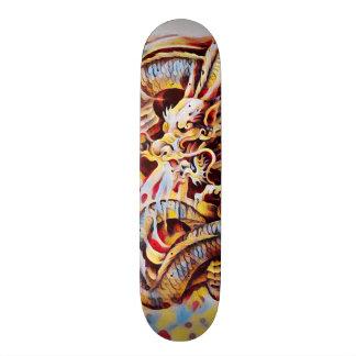 Urban Yakuza Dragon Graffiti Element Pro Board Skate Board Deck