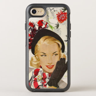 Urbane 1950's Lady OtterBox Symmetry iPhone 8/7 Case