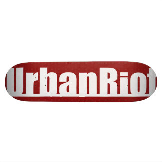 UrbanRiot JP1 Red Deck Skate Boards