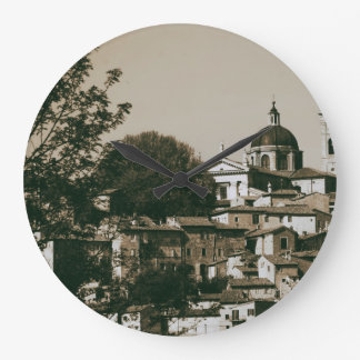 Urbino is a walled city in the Marche region Large Clock