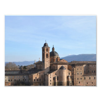 Urbino - the Renaissance city in the marks Photographic Print