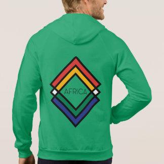 UrbnCape Africa-1 branded zipper hoodie