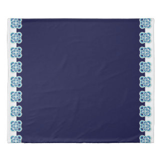 UrbnCape Blue Burbs Mandala Duvet Cover