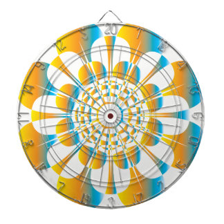 UrbnCape Cape flower mandala Wire Dartboard