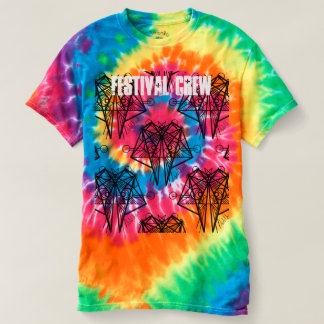 UrbnCape Festival Crew Stage Hostess Tie Dye Shirt