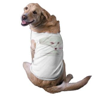 UrbnCape Foxit 3XL doggie suit in white Doggie Tee Shirt