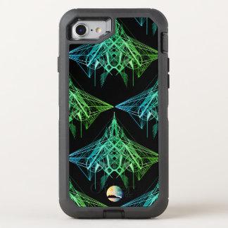 UrbnCape Geometric Neon designer iPhone 7 otterbox OtterBox Defender iPhone 7 Case