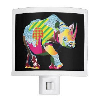 UrbnCape Rhino charity night light