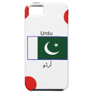 Urdu Language And Pakistan Flag Design iPhone 5 Case