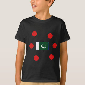 Urdu Language And Pakistan Flag Design T-Shirt