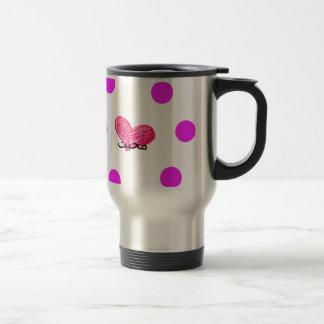 Urdu Language of Love Design Travel Mug