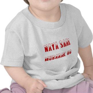 Urdu Naya Saal Mubarak Ho T Shirt