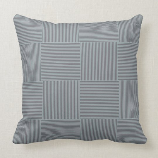 ures stripes gray blue grey blue throw pillow