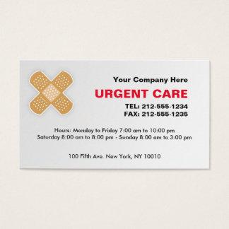 Urgent Care CUSTOMIZABLE Business Card