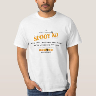 Urgent Frequency Spoof Ads T-shirts