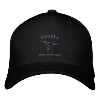 Urgent Fury Official Ranger Flex Fit Hat Embroidered Hats