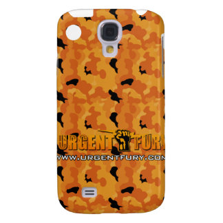 Urgent Fury Orange Camo IPhone 3G case Samsung Galaxy S4 Case