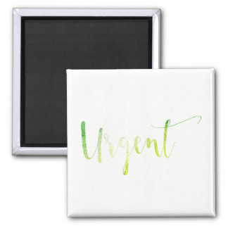 Urgent Green White To Do Planner Home Office Magnet