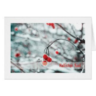 Urglaawe Yuul Card :: Winter Berries