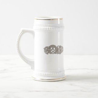 Urnes Snake Extended Stomach Retro Beer Stein