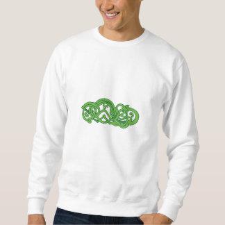 Urnes Snake Extended Stomach Retro Sweatshirt