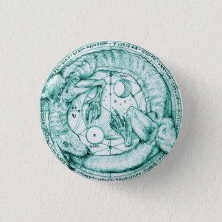 uroboro alquimico 1 inch round button
