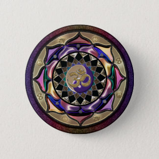 UROCK! Surprise Mandala 2 Inch Round Button