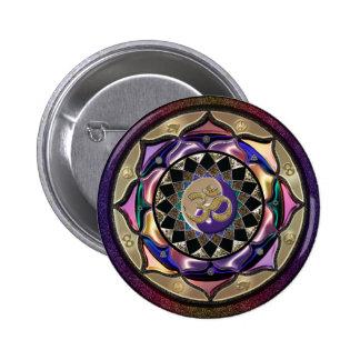 UROCK! Surprise Mandala 2 Inch Round Button