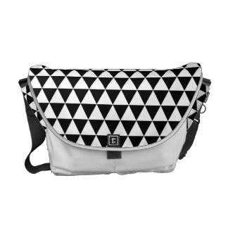 Urokko Japanese Pattern Messenger Bag