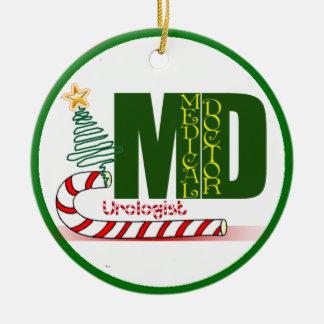 Urologist MERRY CHRISTMAS DOCTOR PHYSICIAN Ceramic Ornament