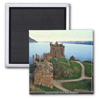 Urquhart Castle, Loch Ness, Scotland Refrigerator Magnets