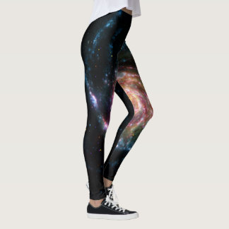 Ursa Major galaxy image Leggings