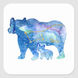 Ursa Square Sticker