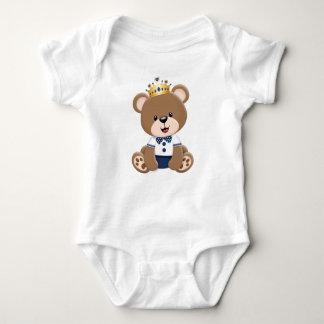 Ursinho Brown Prince Baby Bodysuit