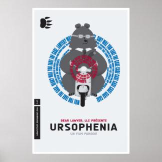 """""""Ursophenia"""" Poster"""
